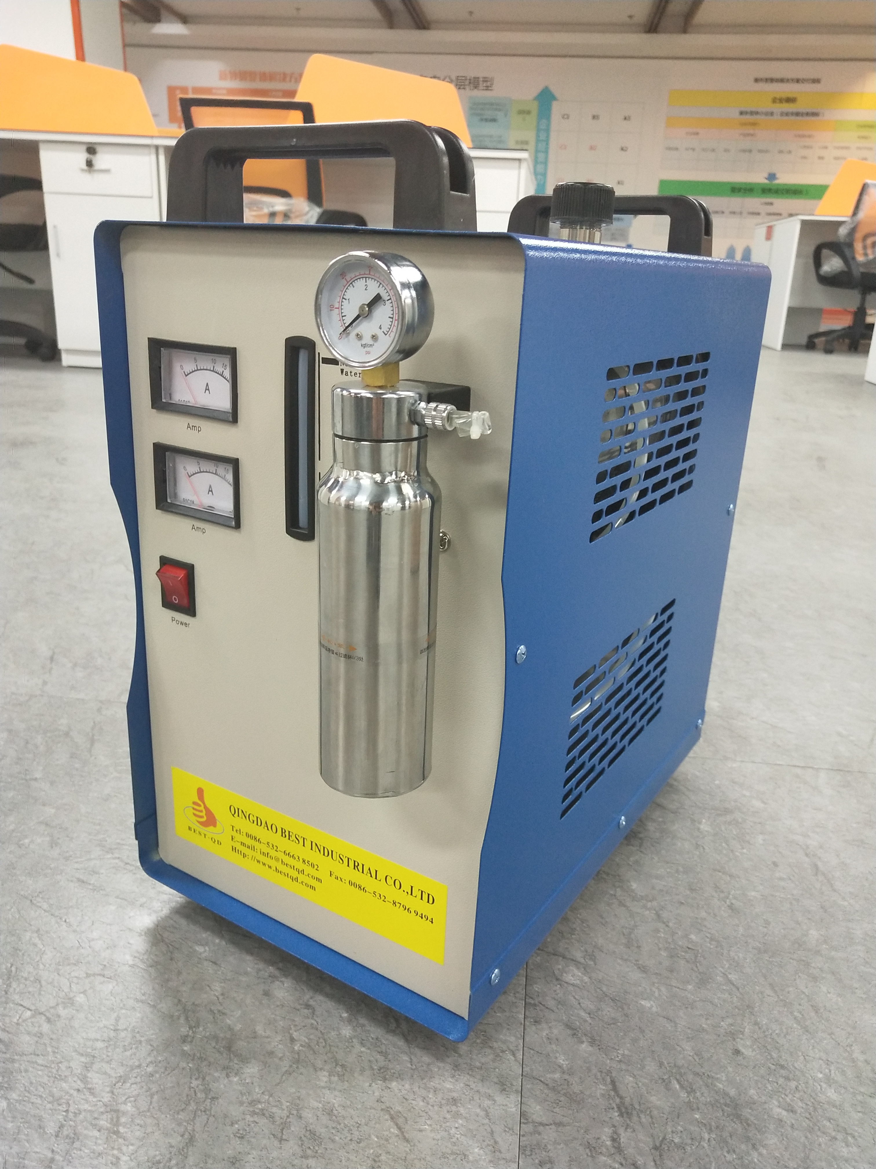 When my HHO Generator gas production is insufficient, or small amount of gas from the torch nozzle, what should we do?