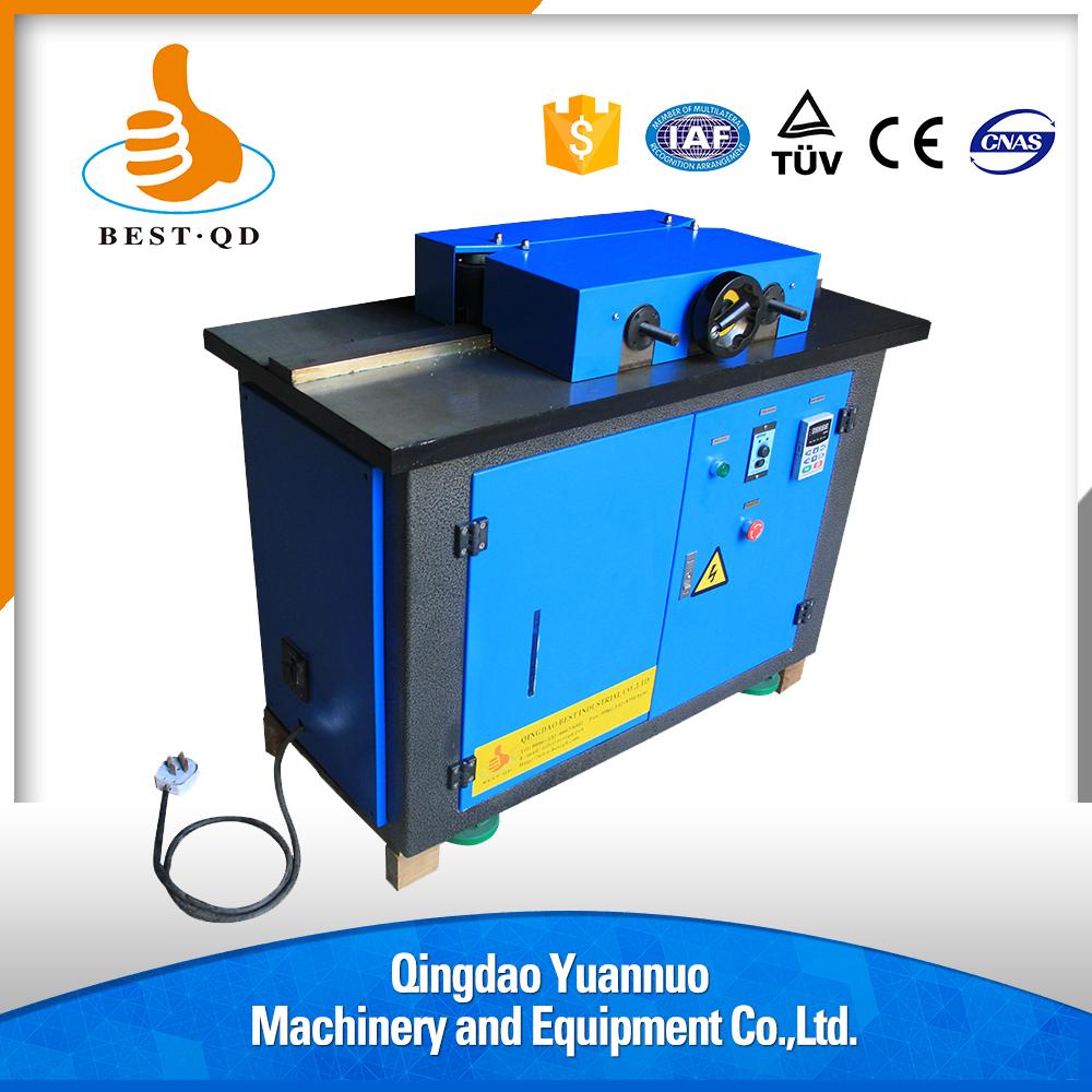 110v flame mini diamond edge polishing acrylic bending machine