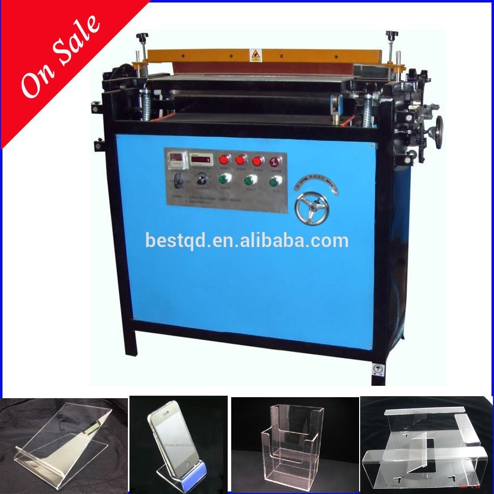 24 600mm 3-tubes Plastic Sheet Bending Machine To Bend V-shape Angles and Radian for Outdoors Advertising