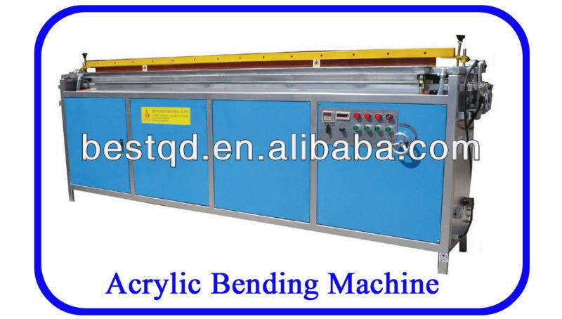 2400 Acrylic Fèy ak PETG Banday Machin