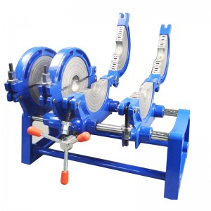 63-160mm Manual Plastic Tube Fusion Welder With 4 Fixture Clamps