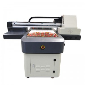 A1 Size 600*900mm Flatbed UV Printer With 2 Espon TX800 Print Heads