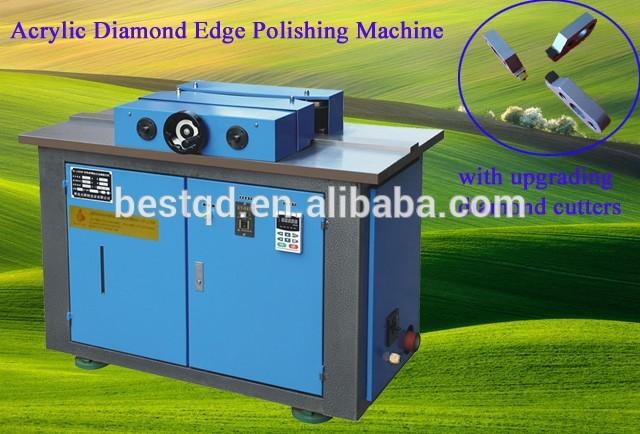 BT-1500DP Acrylic Diamond Edge Polishing Machine For Super Long Plastic Sheet