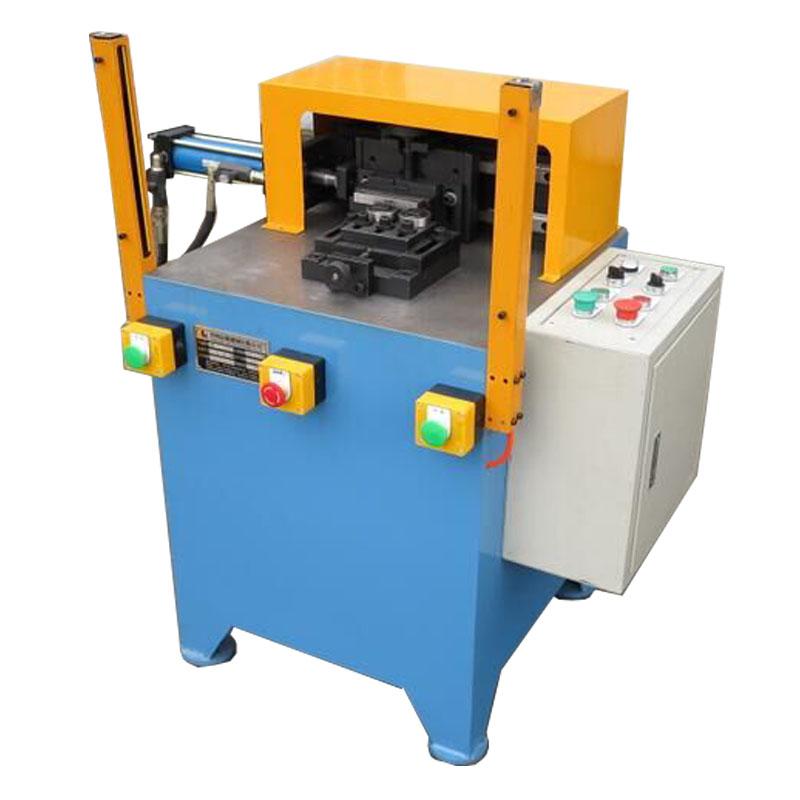 Chain feeder metal bearing rotary marking machine