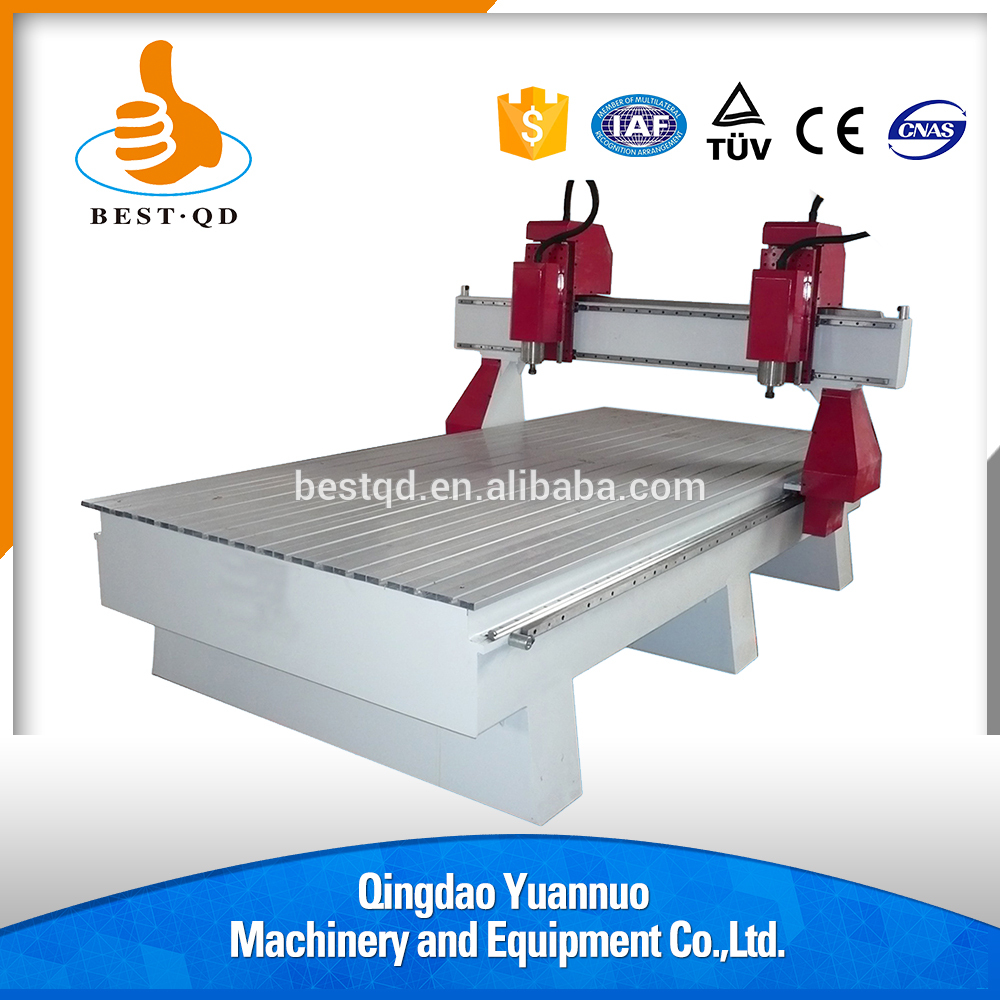 CNC Router Machine With 2 Heads And Competitive Price BT-1325W- 2S