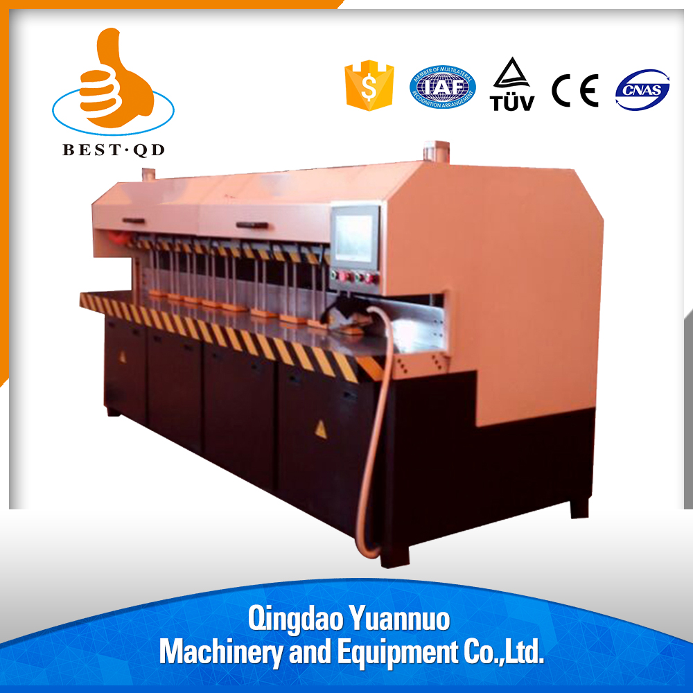 Horizontal servo full automatic acrylic edge polishing bending machine for cosmetic bottle