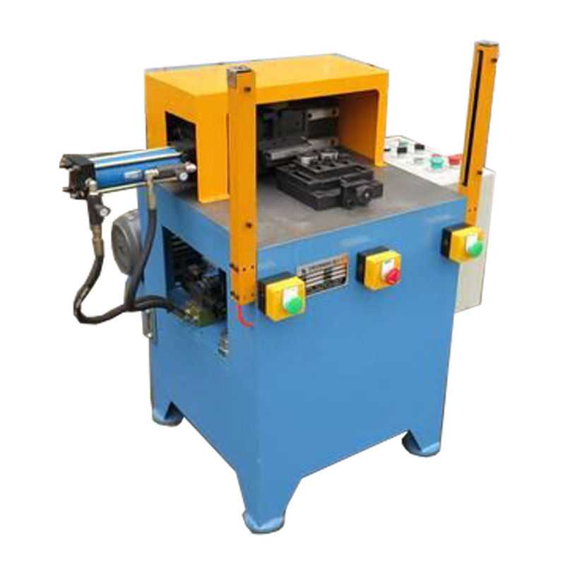 Hydraulic rotary marking machine for metal parts