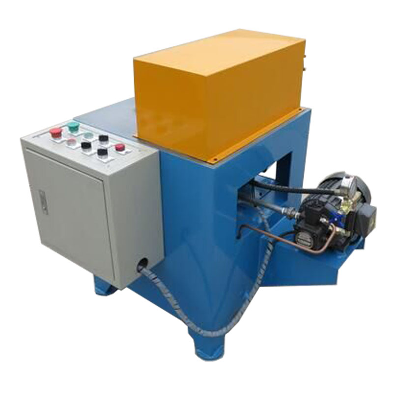 Metal fitting roll bearing rotary marking machine