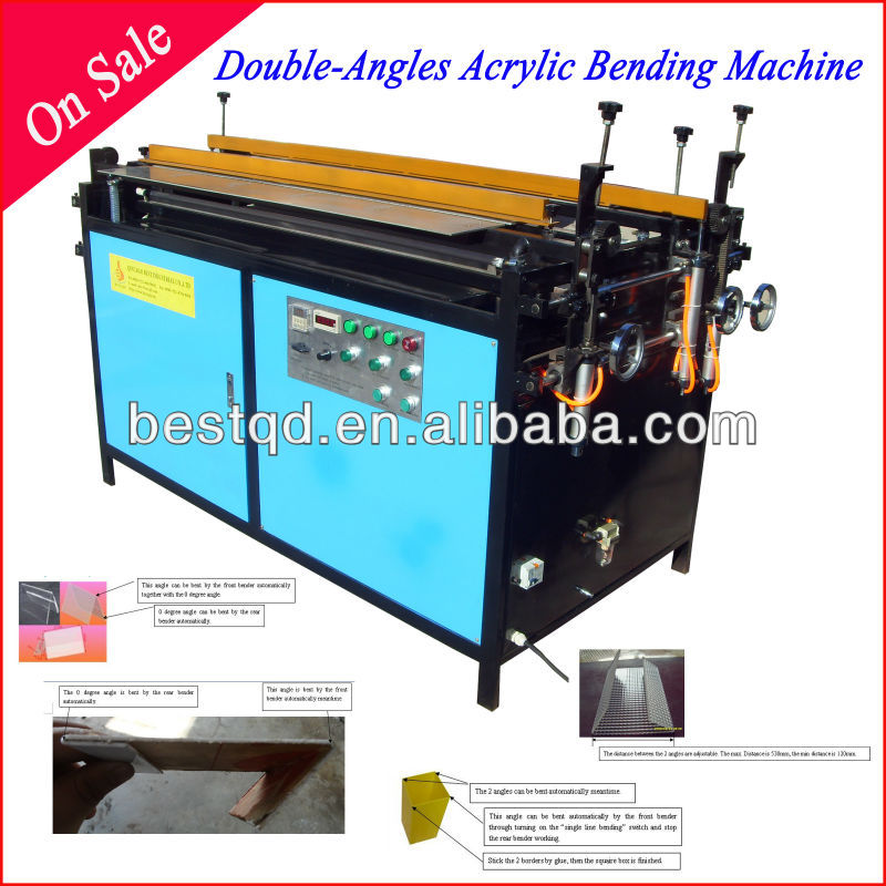 New Arrival Double Lines Automatic Acrylic Bending Machine