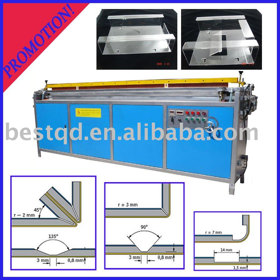 PVC Board Non-contact Hot Bending Machine