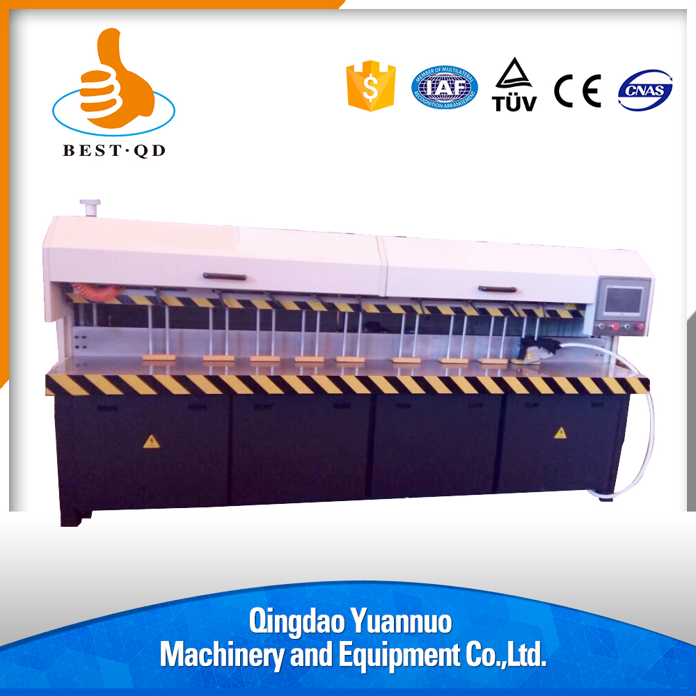 Small size but unlimited working length plexiglass edge polishing acrylic bending machine
