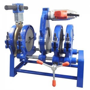 63-200mm Manual Plastic Pipe Fusion Butt Welder With 4 Clamps