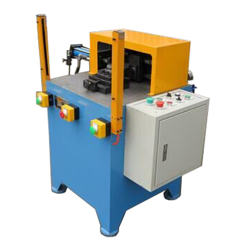 Flange rotary marking machine for metal parts