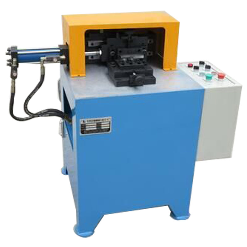 Hydraulic rotary flange marking machine