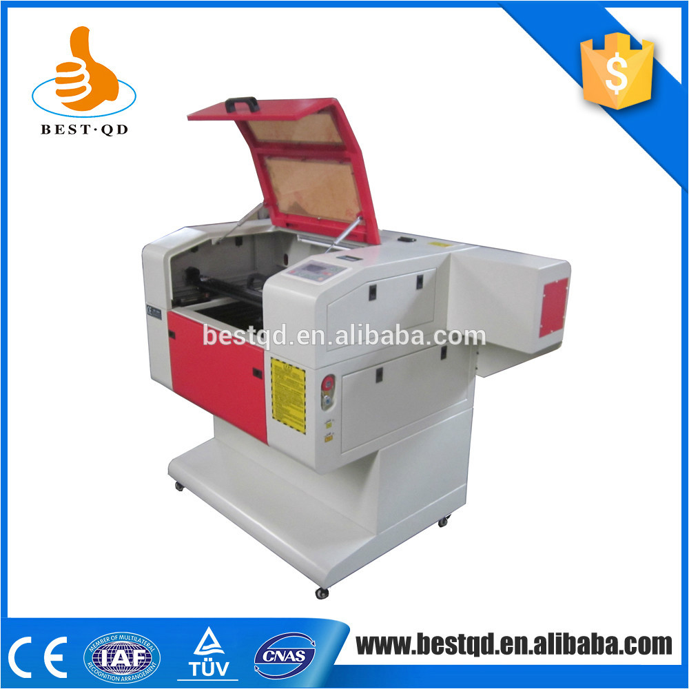 Low Price bamboo crystal jewelry fabrics crafts embroidery Laser Engraving Machine