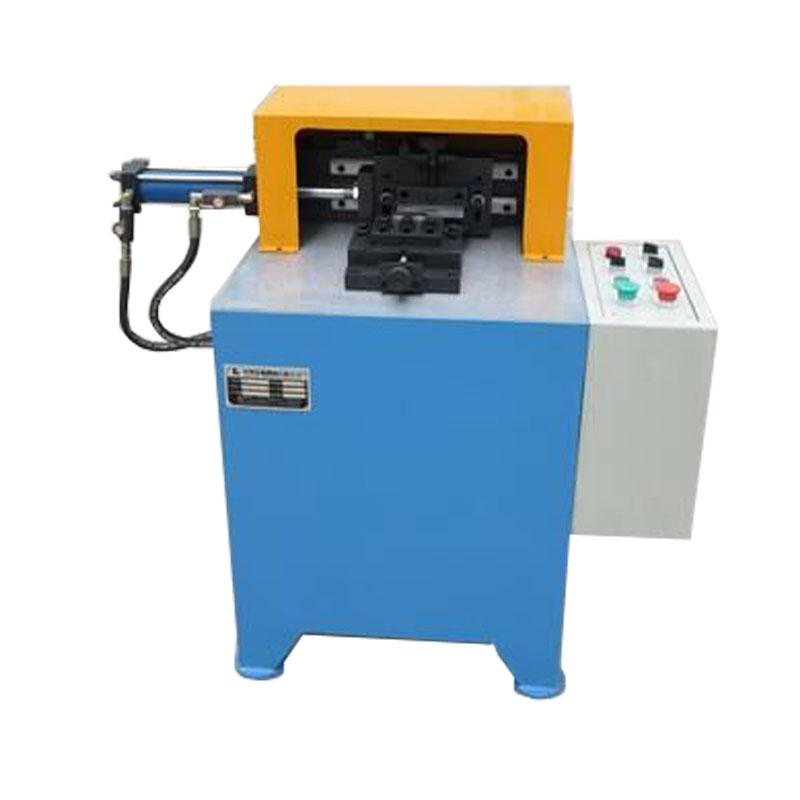 Metal fitting roll flange rotary marking machine