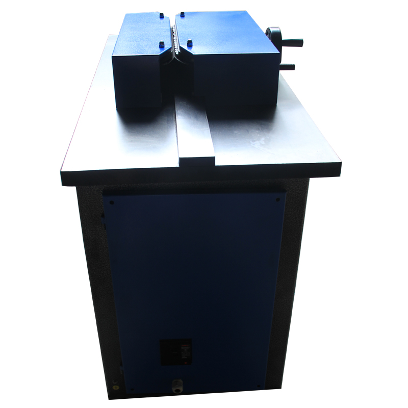 Unlimited working length diamond edge acrylic polishing machine