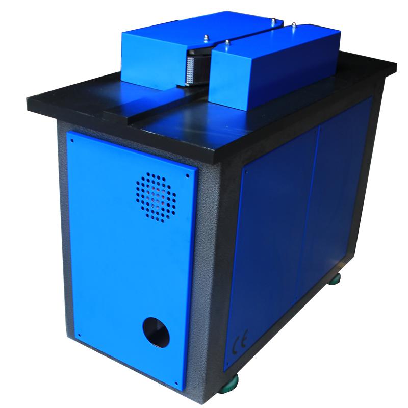Unlimited working length diamond edge polishing machine for acrylic